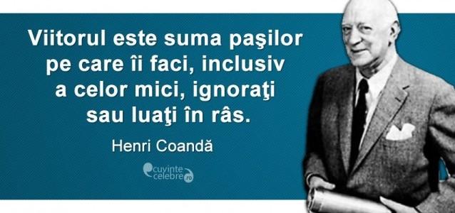 Henri Coandă, inventatorul primului avion cu reacţie din lume
