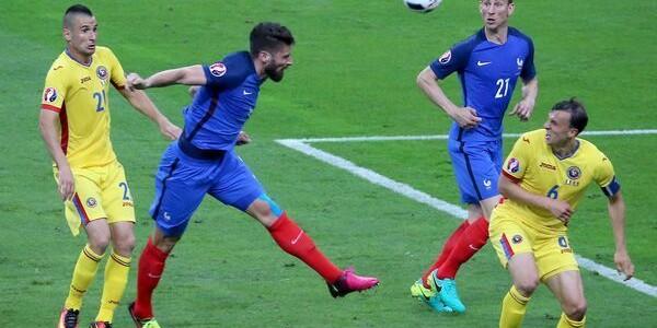 Franţa – România 2-1 (0-0)