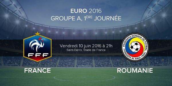 EURO 2016: România şi Franţa joacă meciul de deschidere