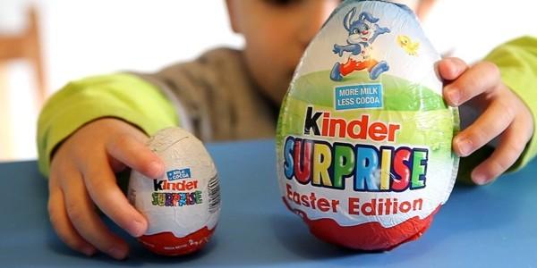 Kinder Surprise, interzise în Chile