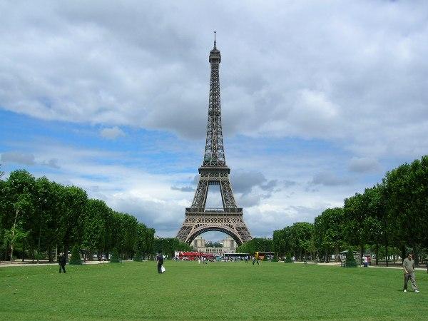 Le Champ-de-Mars-Turnul-Eiffel