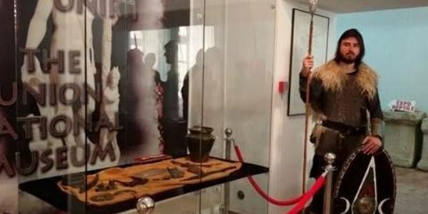 Muzeul Naţional al Unirii Alba Iulia: piese din mormântul princiar de la Cugir