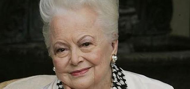 """Olivia de Havilland a jucat în """"Pe aripile vântului"""" şi astăzi împlineşte 100 de ani"""