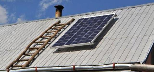 Panouri fotovoltaice pentru un cătun neelectrificat
