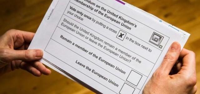 Britanicii au votat pentru ieşirea din UE