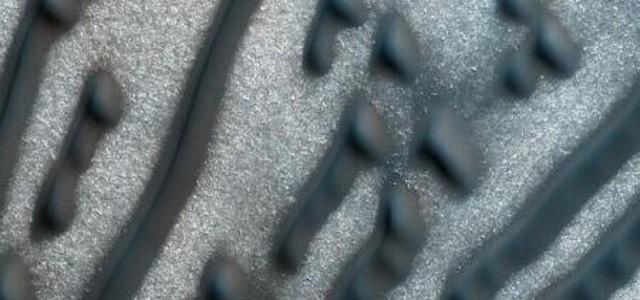 Mesaj în Morse de pe Marte?