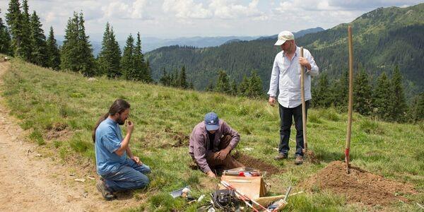 Un nou sit preistoric descoperit în Pasul Prislop