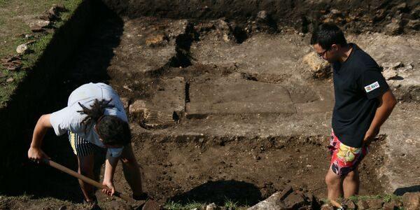 Descoperire importantă în fostul oraş roman Porolissum