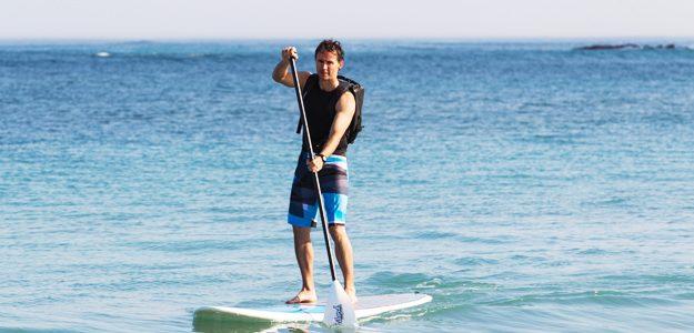 Stand Up Paddling, un nou sport nautic în Delta Dunării