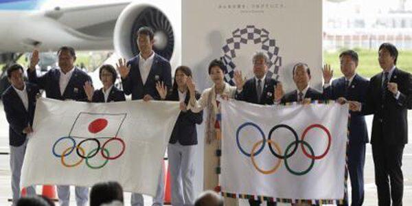 Drapelul olimpic a revenit la Tokyo după jumătate de secol
