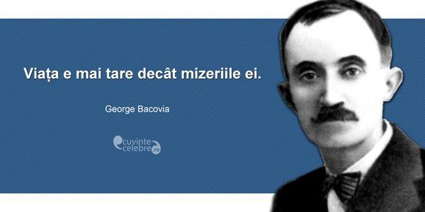 George Bacovia, unul dintre marii precursori ai poeziei române moderne