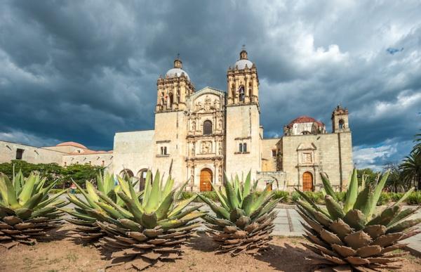 Church of Santo Domingo de Guzmán in Oaxaca, Mexico