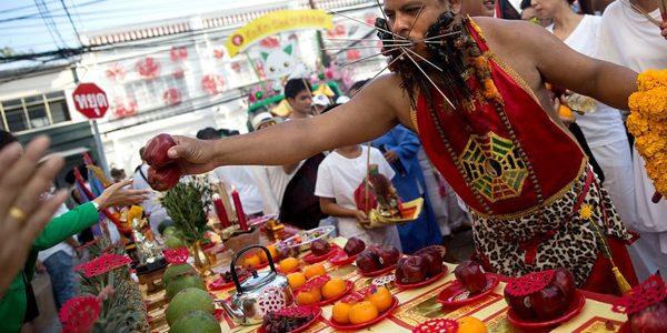 Festivalul vegetarian din insula Phuket