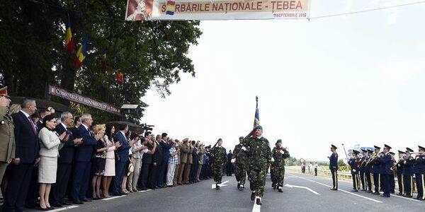 Spiritul patriotic a dominat Serbările Naţionale de la Ţebea