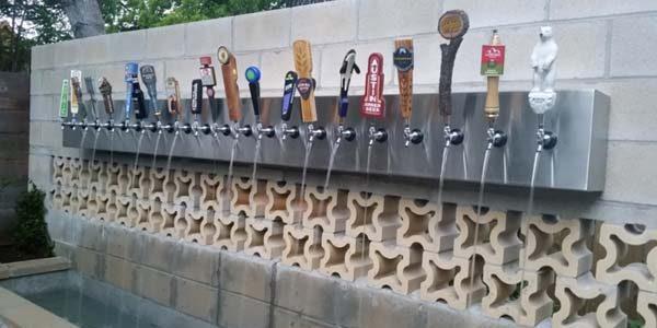 Prima fântână cu bere din Europa