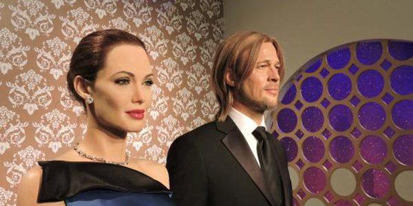 """Muzeul de ceară din Londra """"i-a despărţit"""" pe Angelina Jolie şi Brad Pitt"""