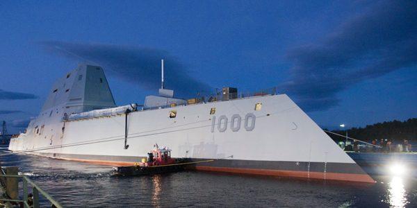 Nava invizibilă a Marinei americane s-a defectat în canalul Panama