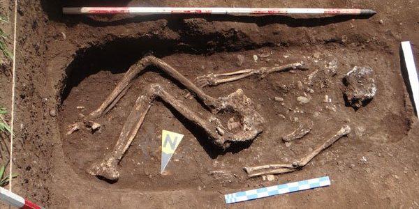 Mormânt din Epoca Bronzului, descoperit la Ariceştii Rahtivani