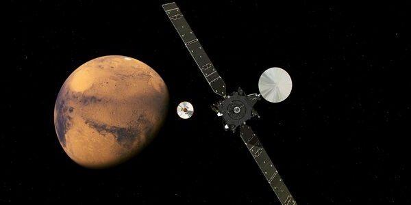 Lungul drum spre Marte a început în 2016