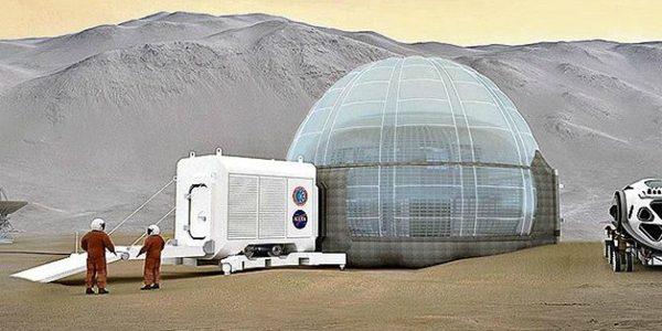 Habitatul pentru prima misiune cu echipaj uman pe Marte arată ca un iglu