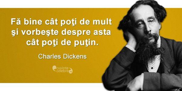 Charles Dickens, operă de o mare însemnătate universală