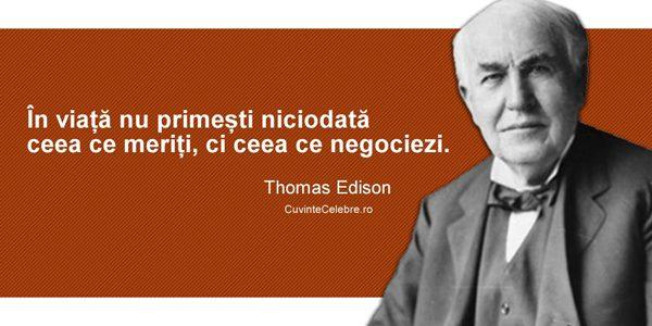 Thomas Alva Edison: celebrul inventator a abandonat şcoala după numai câteva luni