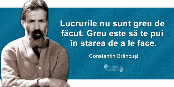 Manifestări dedicate împlinirii a 141 de ani de la naşterea sculptorului Constantin Brâncuşi
