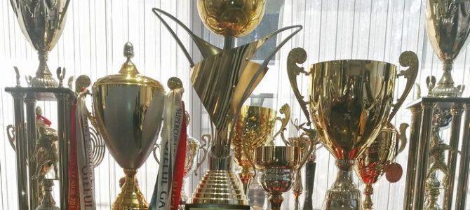 Palmaresul, marca şi trofeele clubului Oţelul Galaţi, vândute la licitaţie pentru 10.000 de euro