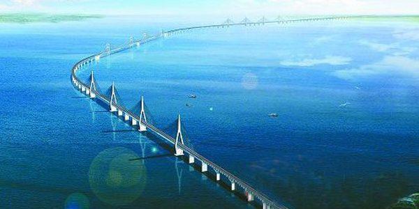 China va construi un pod multifuncţional de peste 5 kilometri în doi ani