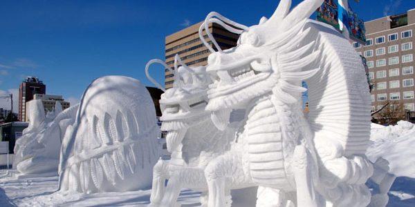 Festivalul anual al zăpezii de la Sapporo