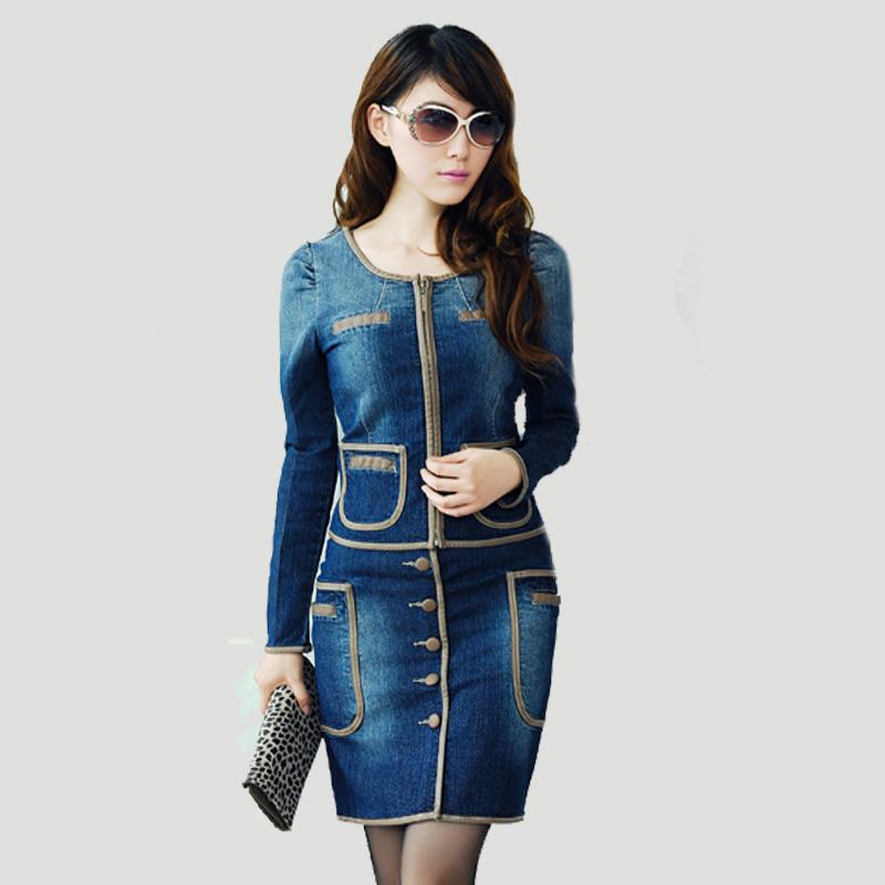 rochie-jeans