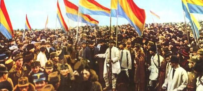 96 de ani de la Marea Unire