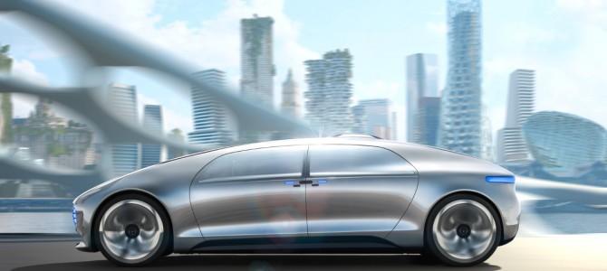 Mercedes-Benz F 015 – maşina care se conduce singură
