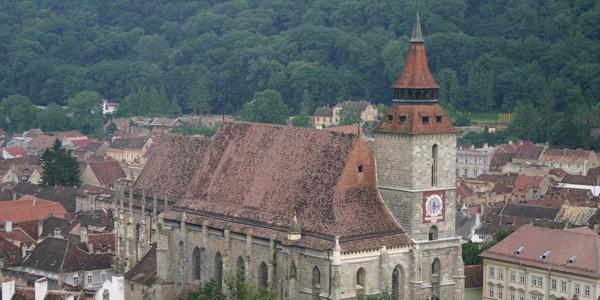 BRAŞOV: Biserica Neagră, cea mai mare clădire de cult din România