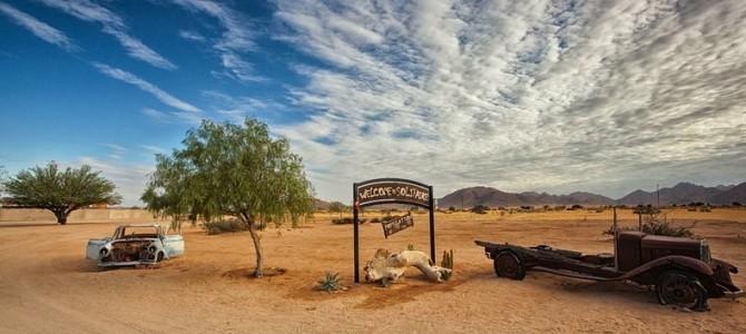 Oraşul solitar din Namibia