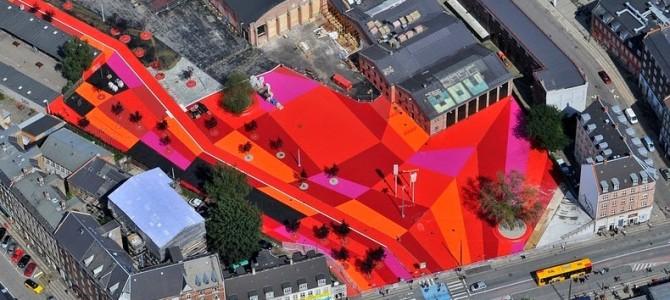 Superkilen, parcul din Copenhaga cu exponate din 60 de ţări