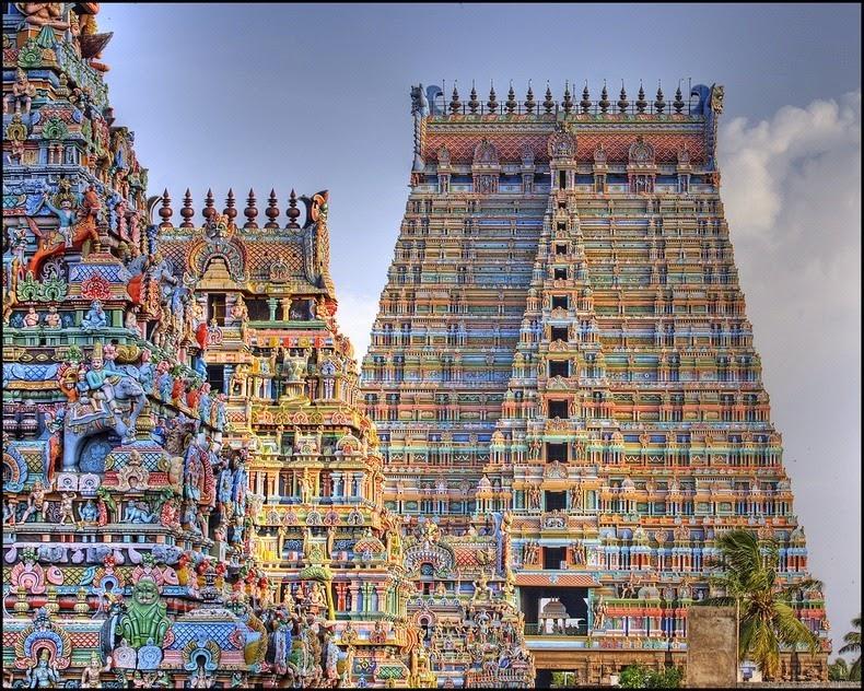 Templul Srirangam2