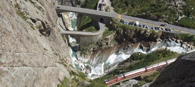 Teufelsbrücke, Podul Diavolului din Elveţia