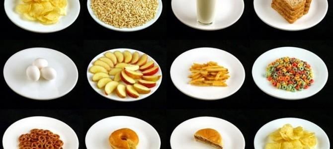 Ce alimente cu 200 de calorii aţi mânca?