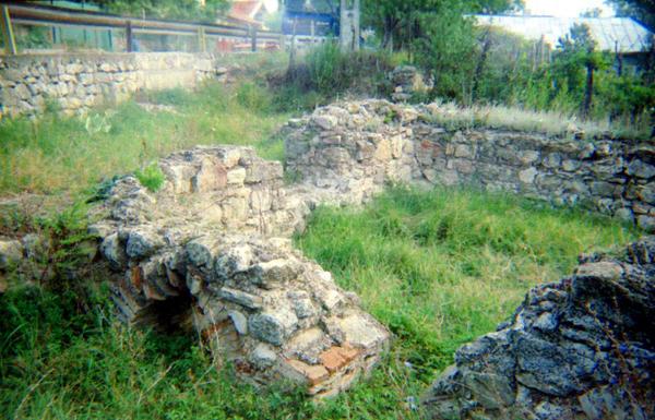 Castrul roman-Pietroasele2