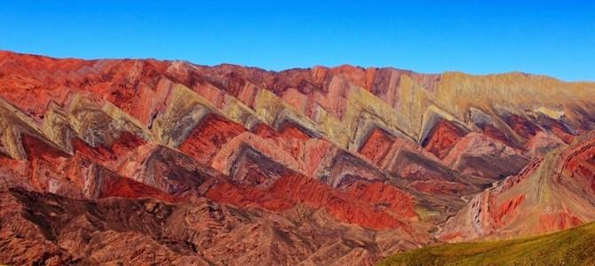 Uimitor de coloraţii Munţi Hornocal