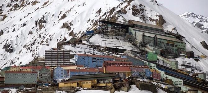 Sewell, oraşul minier abandonat în Anzi