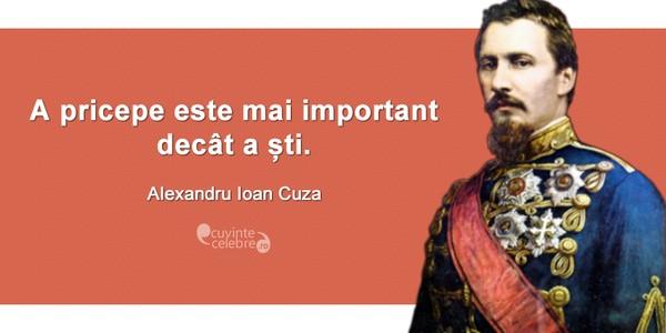 Alexandru Ioan Cuza, primul domnitor al Principatelor Române