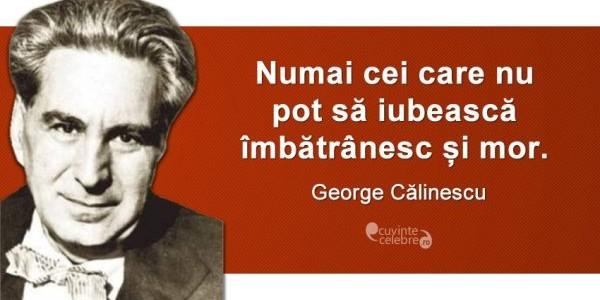 George Călinescu, personalitate marcantă a culturii române