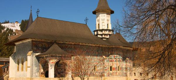 Biserica Învierii de la Mănăstirea Suceviţa