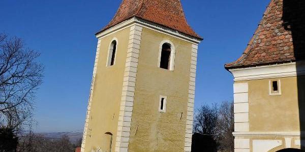 """Turnul din Ruşi (Sibiu) ar putea """"concura"""" cu cel din Pisa"""