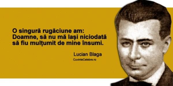 Lucian Blaga nu a vorbit până la vârsta de 4 ani