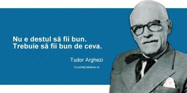 """Tudor Arghezi: """"MĂRŢIŞORUL e patria literaturii mele"""""""
