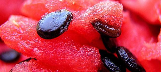 Seminţele de pepene verde, importantă sursă de fibre, minerale şi proteine