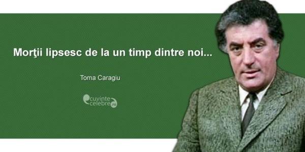 Toma Caragiu,  unul dintre cei mai îndrăgiţi actori români